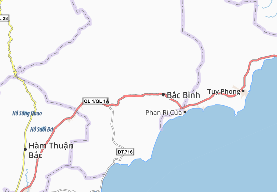 Carte-Plan Phan Thanh