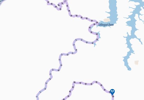 Mapa Plano Sidikila