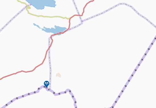 Kaart Plattegrond Da'asbiyo