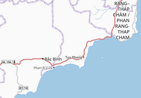 Phong Phú Map