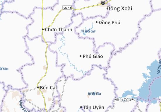 Carte-Plan Phú Giáo