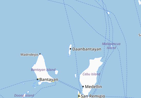 Mapa Plano Daanbantayan