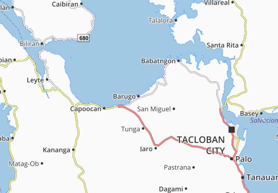 Kaart Plattegrond Barugo