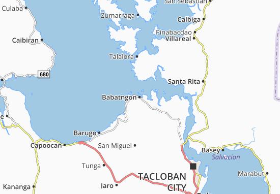 Babatngon Map