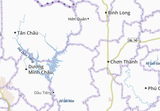 Carte-Plan Minh Hòa