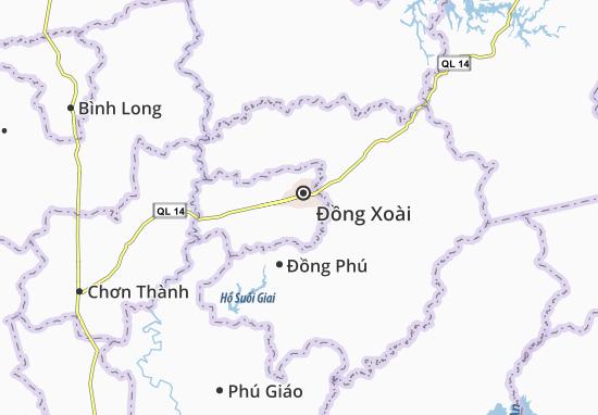 Mapas-Planos Tân Xuân