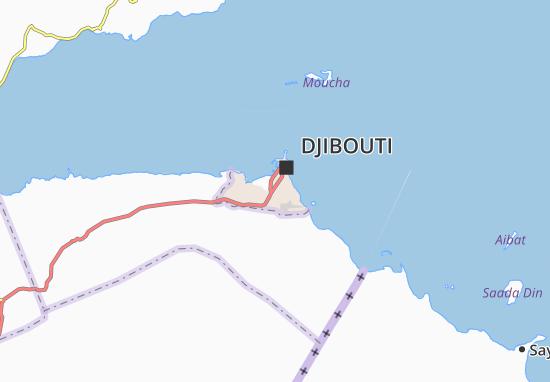 Ambouli Map