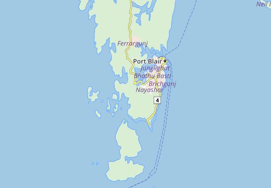 Kaart Plattegrond Mahglutan