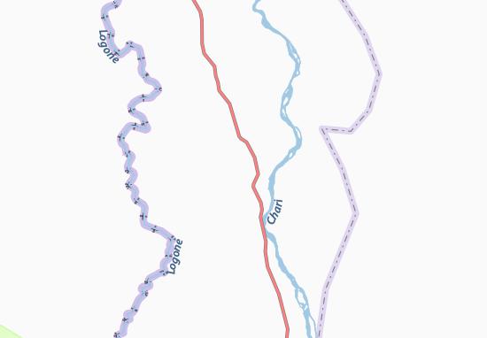 Carte-Plan Am Bachakouche