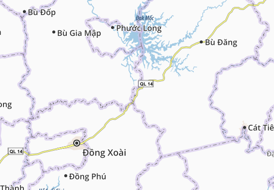 Nghĩa Trung Map