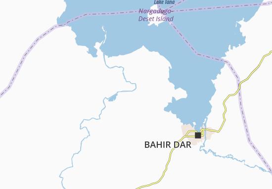 Carte-Plan Debir Duba