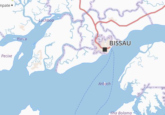 Carte-Plan Ponta Benjamim Correia