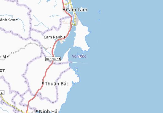 Carte-Plan Cam Bình
