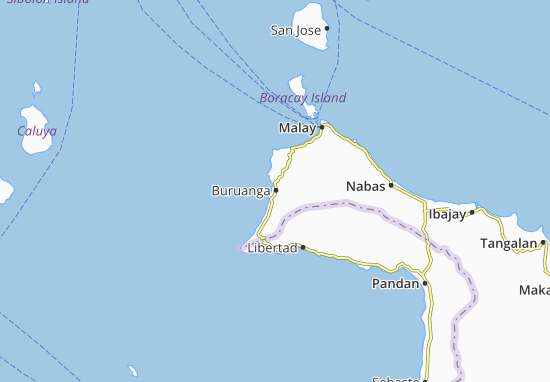 Buruanga Map