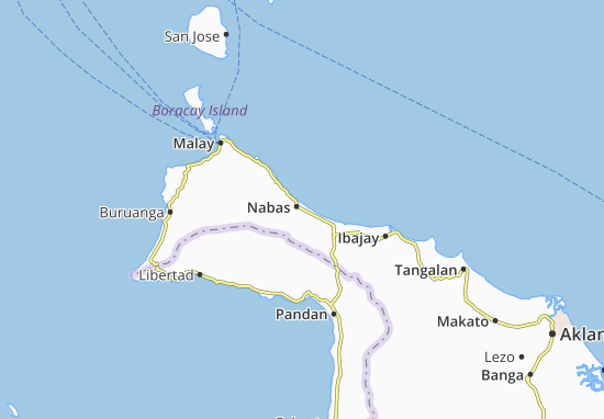 Nabas Map