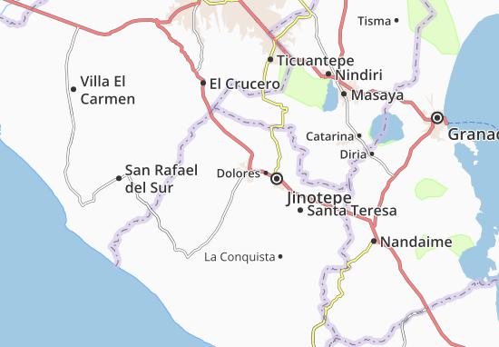 Diriamba Map