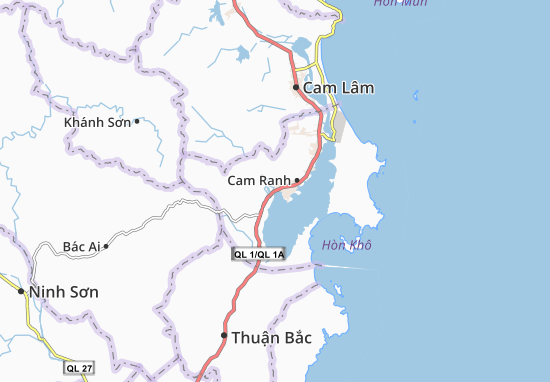 Ba Ngòi Map