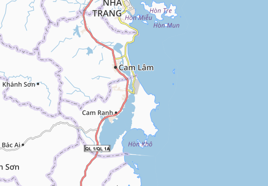 Cam Nghĩa Map