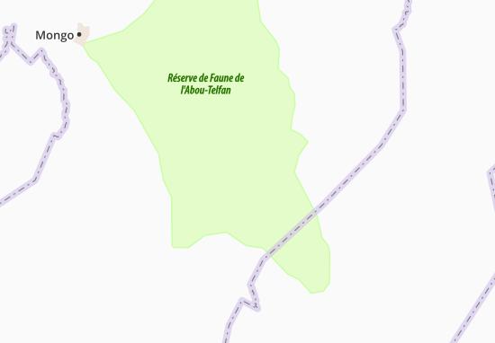 Carte-Plan Kourboul