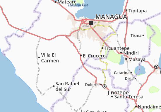 El Crucero Map