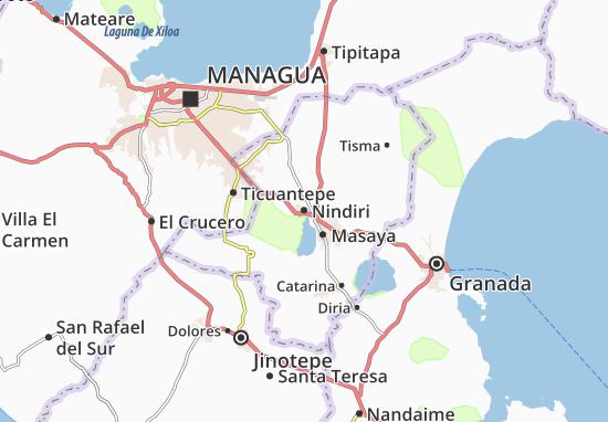Nindiri Map