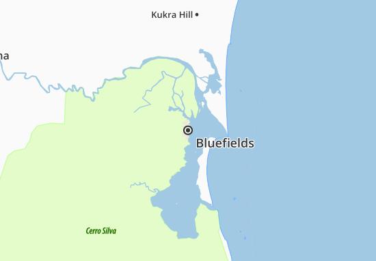 Bluefields Map