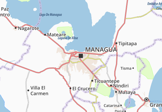 Managua Map: Detailed maps for the city of Managua - ViaMichelin on house in bahia gigante nicaragua, san marcos nicaragua, map within boaco nicaragua, managua nicaragua, finca de venta diriamba nicaragua, gonzalez family of diriamba nicaragua, map of waslala, current weather in nicaragua, villa san sebastian diriamba nicaragua, matagalpa nicaragua, islands of lake nicaragua,