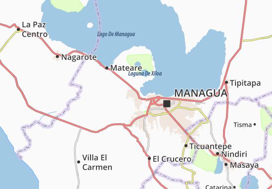 Ciudad Sandino Map
