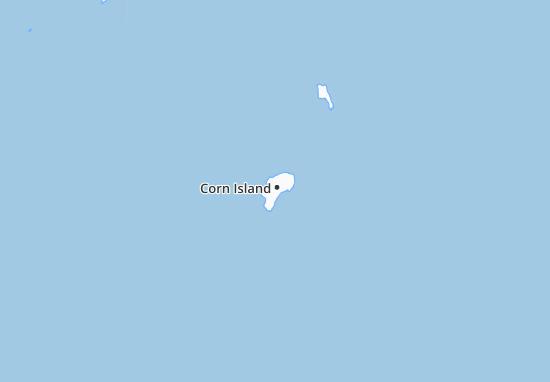 Corn Island Map