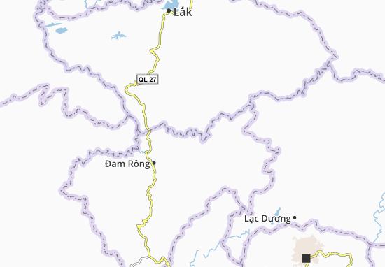 Đạ M`Rong Map