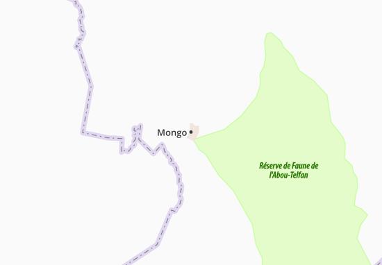 Carte-Plan Mongo