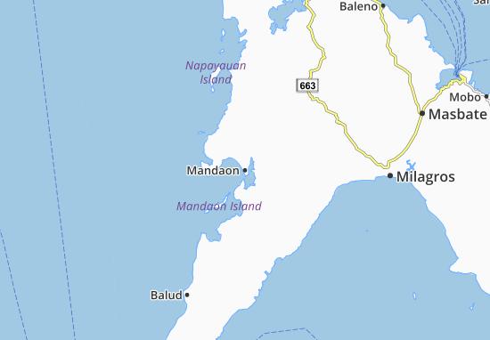 Carte-Plan Mandaon