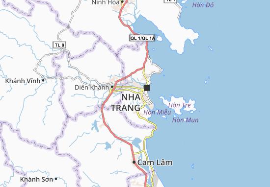 Kaart Plattegrond Vĩnh Thái
