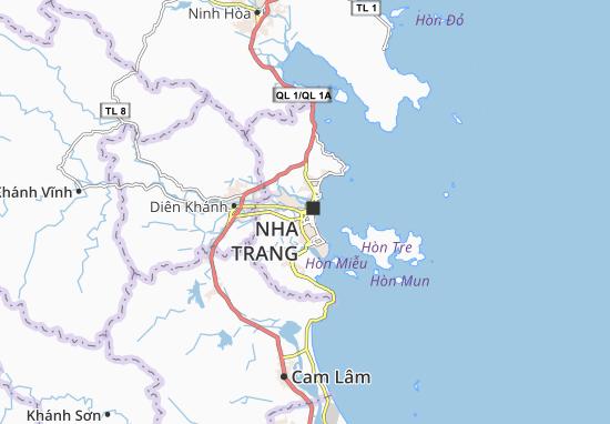Carte-Plan Phương Sài
