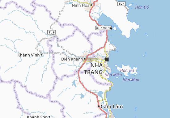 Diên Khánh Map