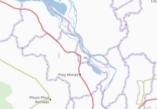 Kompong Chhnang Map