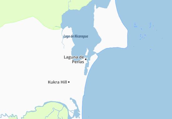 Laguna de Perlas Map
