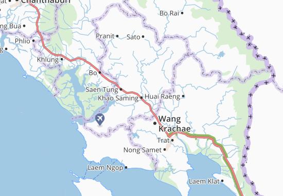 Khao Saming Map