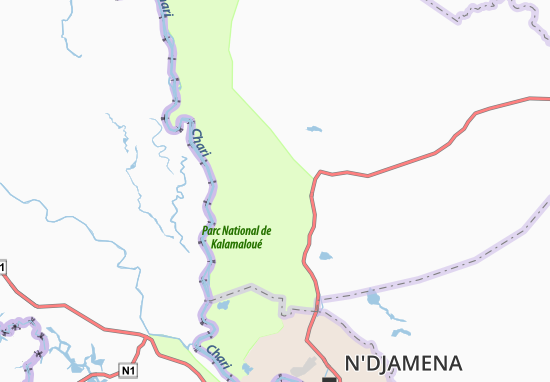 Carte-Plan Abdjogana