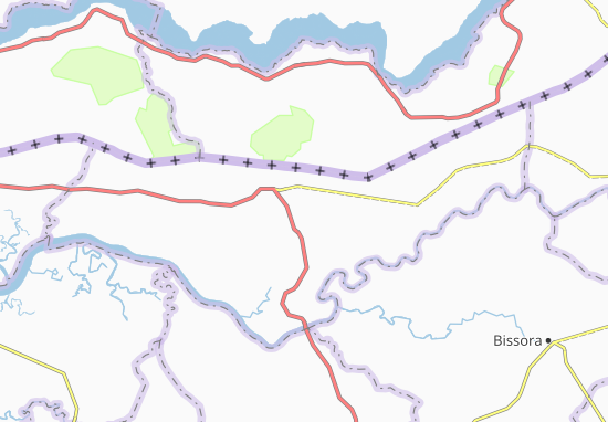 Carte-Plan Ongoro