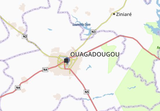 Kaart Plattegrond Bendogo
