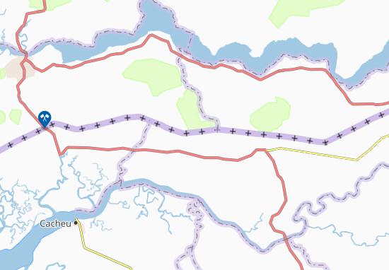 Carte-Plan Nhalom