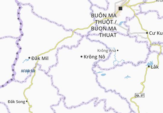 Carte-Plan Krông Nô