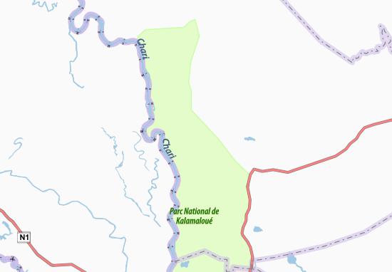 Carte-Plan Gos en Naal