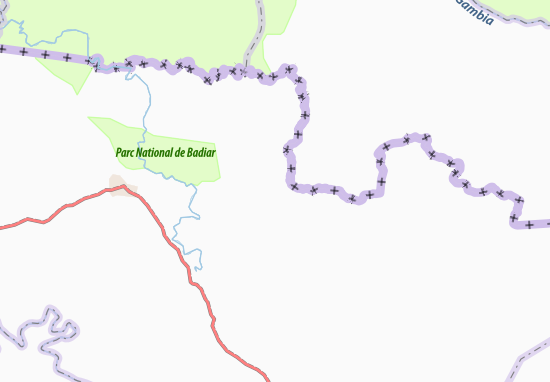 Carte-Plan Ikounoun