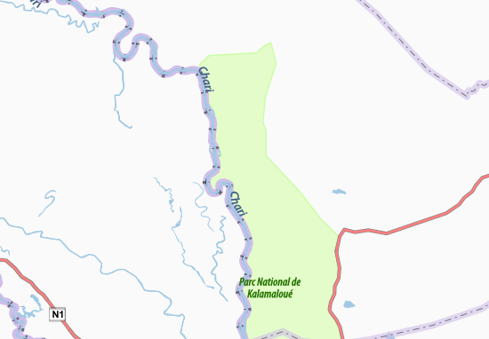 Kaart Plattegrond Melgi