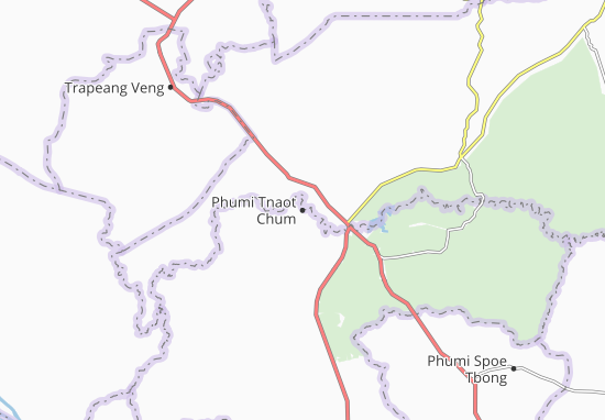 Carte-Plan Phumi Tnaot Chum