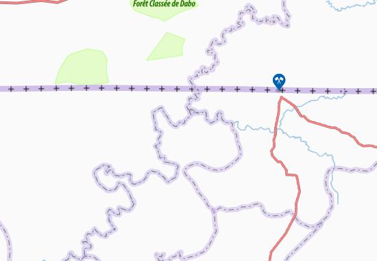 Carte-Plan Paiana