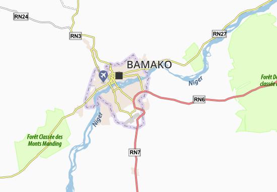 Carte-Plan Banankabougou