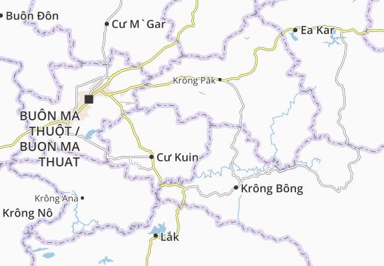 Cư Ê Wi Map